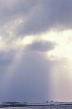 foggy, clouds, sky