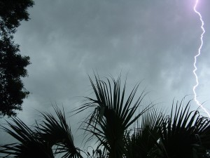 lightning, strike
