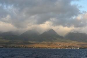 océan, hawaï, ciel