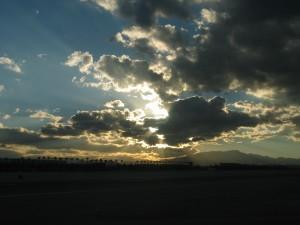 ciel, paysage, nature