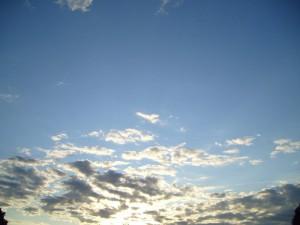 ciel, nuages, paysage