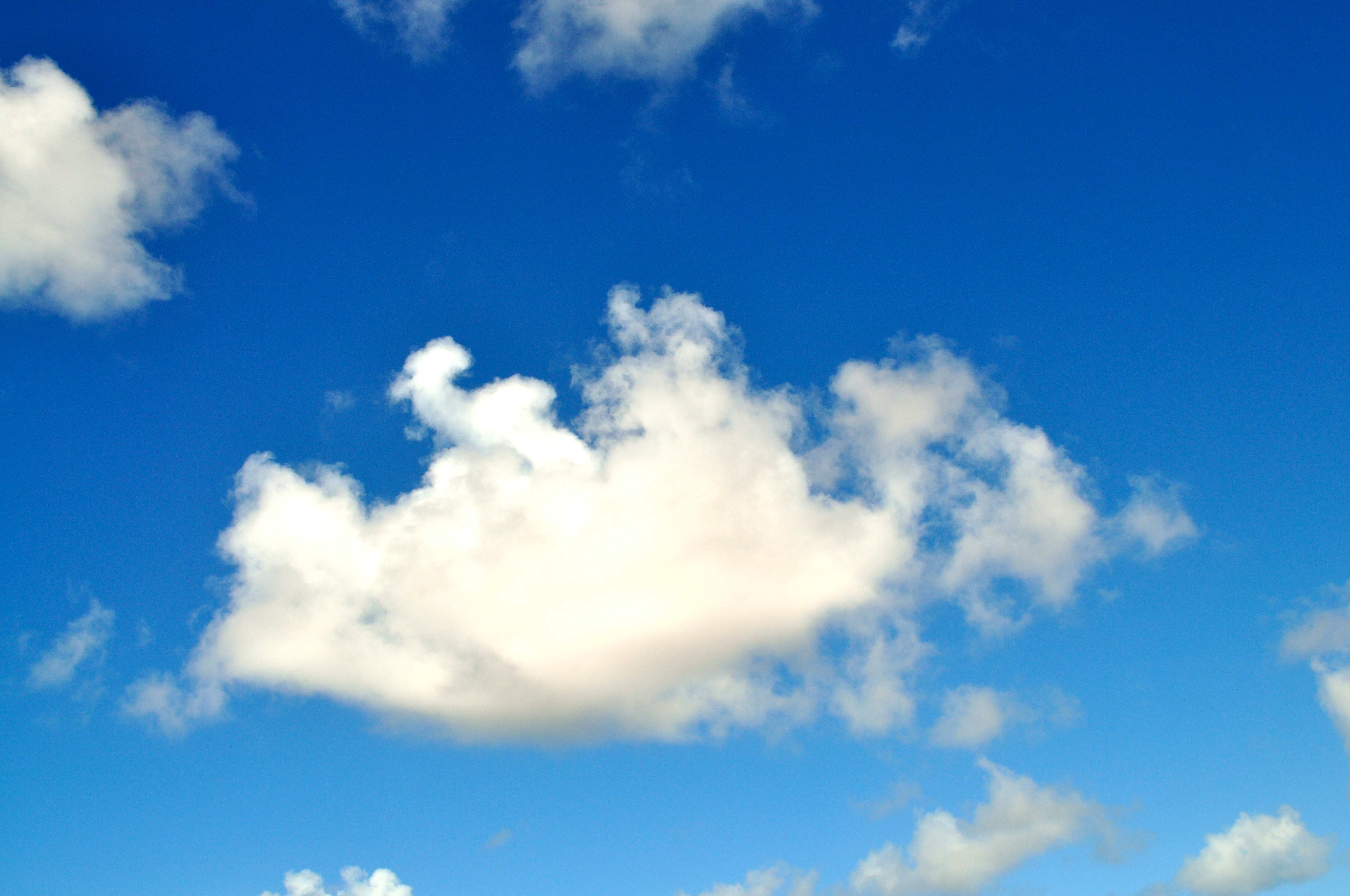 Free photograph; sky, clouds, sunny, day