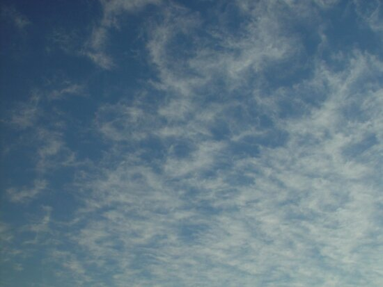 whispy, clouds