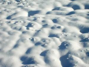 background, white snow