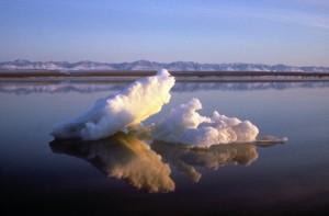 beaufort, sea, ice, brooks, mountain, range