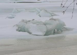 breaking, ice