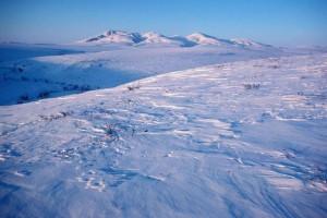 sans fin, de la neige, mounatains, collines