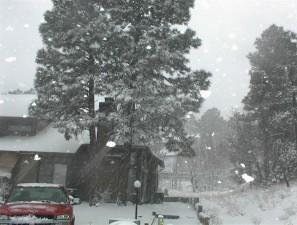 heavy, snowfall