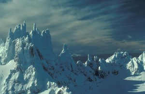 หิมะ aghileen, pinnacles
