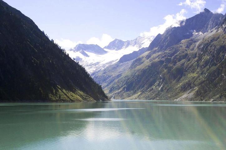 landscape, summer, lake