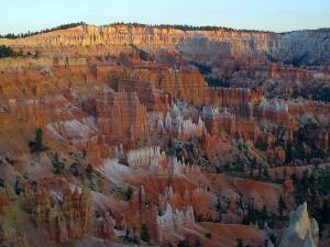 canyon, sunrise