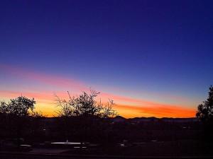 matahari terbit, Taman