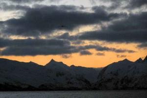sunrise, unalaska, island