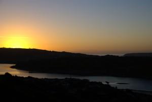 zalazak sunca,
