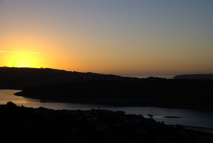 solnedgang,