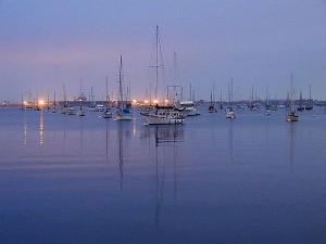 water, ocean, bays, sailboats, sunrises