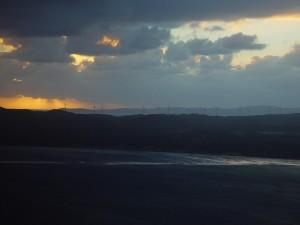 ออลบานี ลม ฟาร์ม พระอาทิตย์ตก ตะวัน ตก ออสเตรเลีย