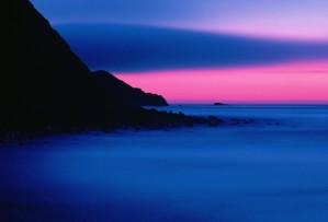 sunset, Buldir, island, Alaska