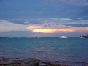 พระอาทิตย์ตก เมฆ