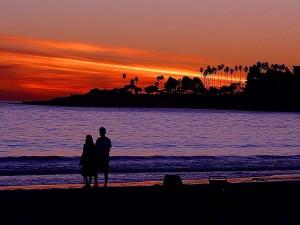 sunset, Jolla