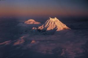 sunset, roundtop, peaks