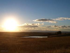 naplemente, kis tó