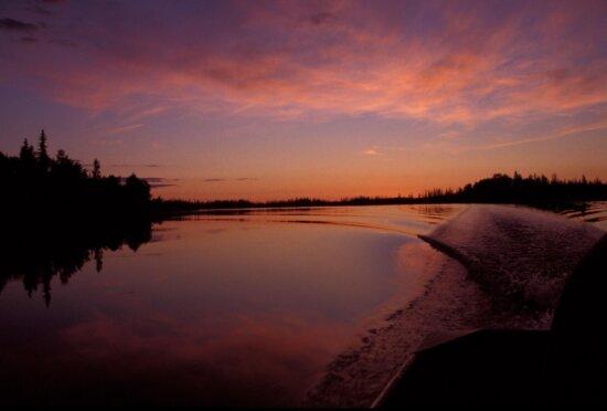 sunset, purple, sunset