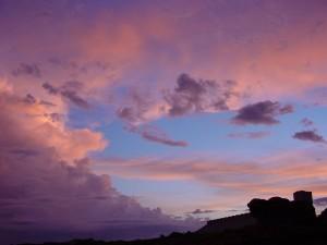 ท้องฟ้า พระอาทิตย์ตก