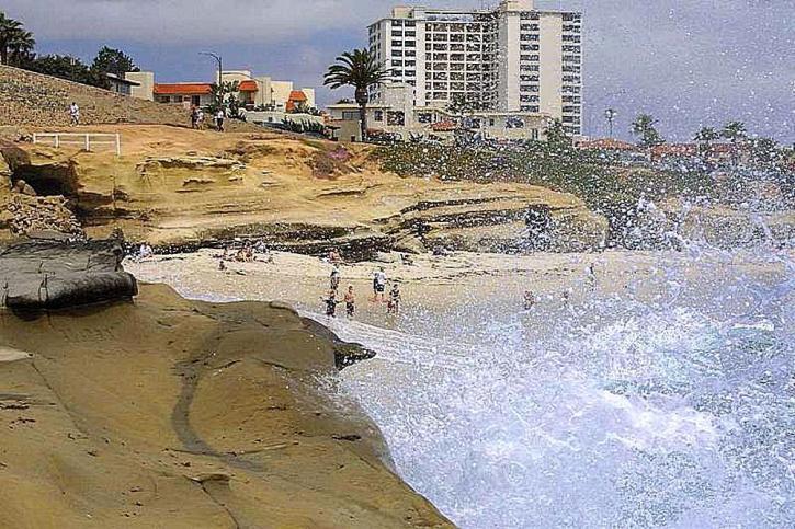 surf, plages, océan, vagues, Jolla