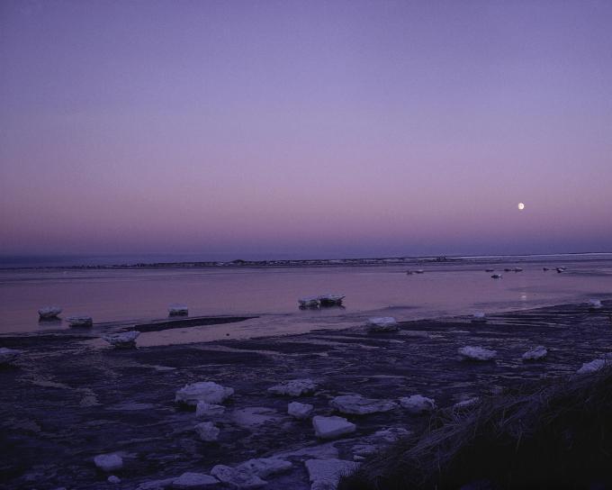 Yukon, delta, wilderness, refuge, Alaska, sunset