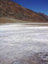 badwater, death valley, zout