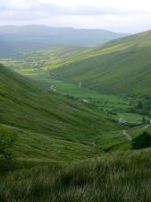 glengesh, passes, valleys, Ireland