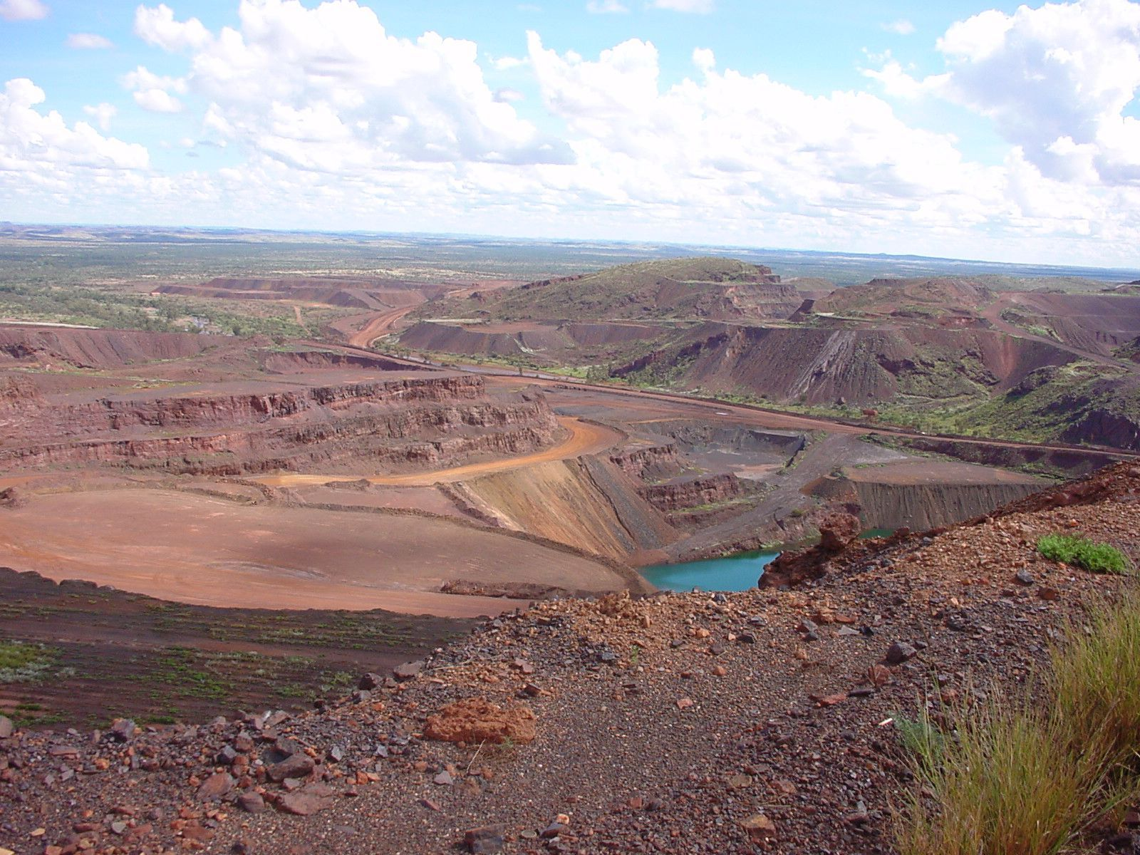Free picture: mining, operations, paraburdoo, mine