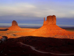 monument, valley