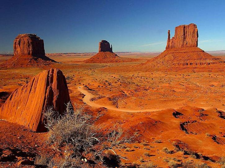 monument, valley, towers