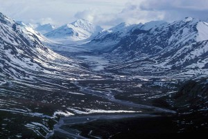 noatak, river, glacial, valley