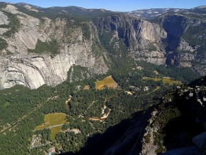 Yosemite valley, gletsjer, punt