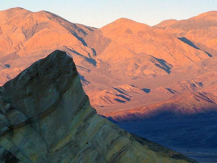 Zabriskie point, dood, vallei