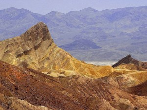 Zabriskie, točka, smrt, doline, pustinje