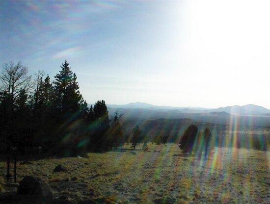 volcanic, landscape, meadow