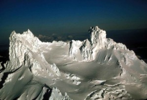 isanotski, peaks, volcano