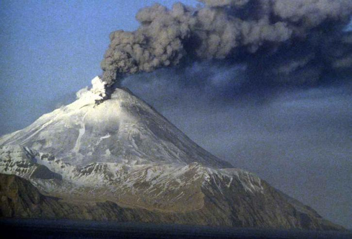 Kanaga volcano eruption Kanaga island Aleutians