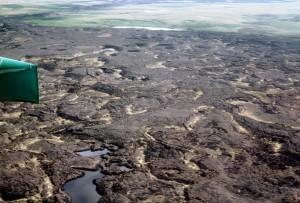 lava, fields