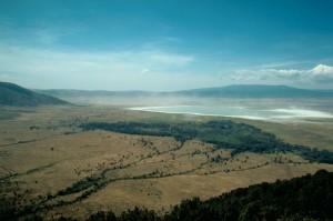 Ngorongoro, cráter, escénico