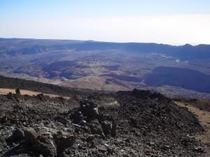 volcanique, paysage