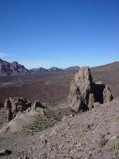 volcanic scenery, landscape, desert, ground, dust