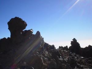 volcanic, stone