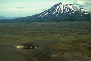 volcano, mountain, peulik