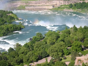 American, Niagra, waterfalls