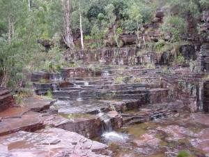 cascade, waterfall